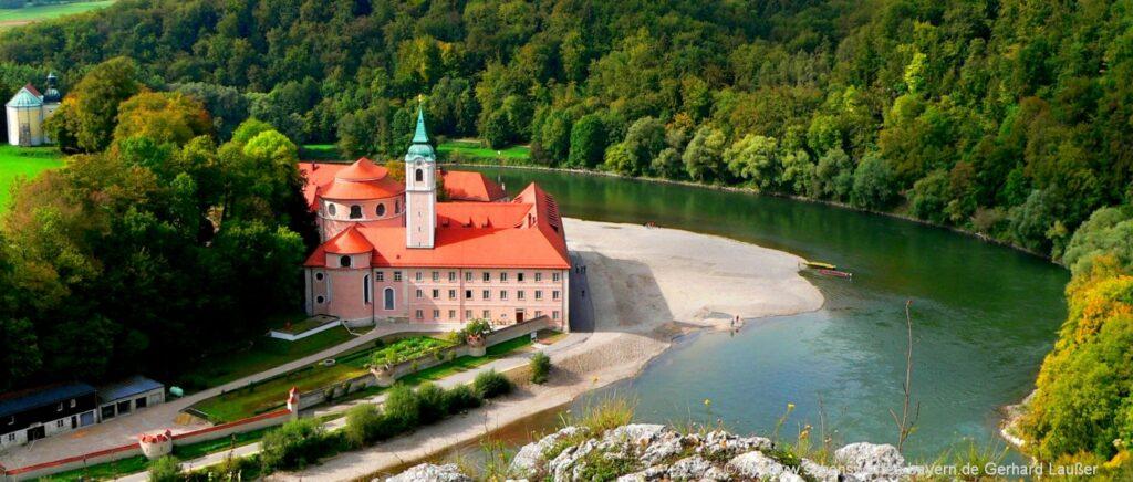 Highlights & Attraktionen im Altmühlltal Kloster Weltenburg