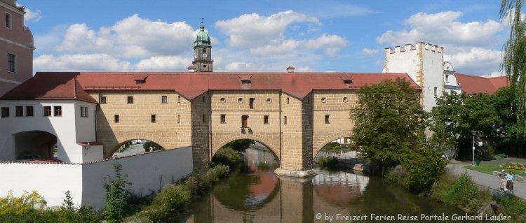 Sehenswürdigkeiten in Amberg Wahrzeichen Stadtbrille