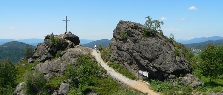 Ausflugsziel Silberberg Bodenmais Wandern