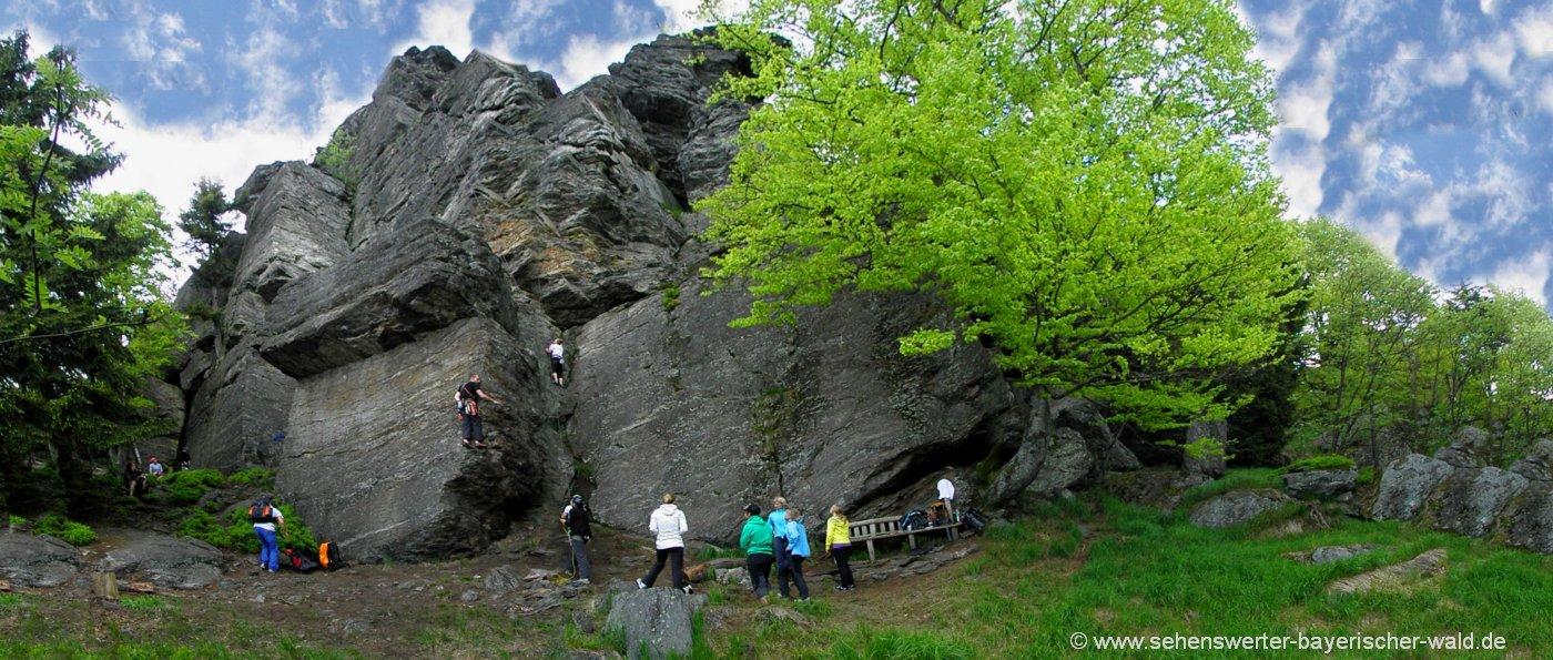 bad-kötzting-ausflugsziele-kaitersberg-klettern-rauchröhren