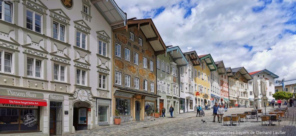Sehenswürdigkeiten und Attraktionen in Bad Töz - Marktstraße