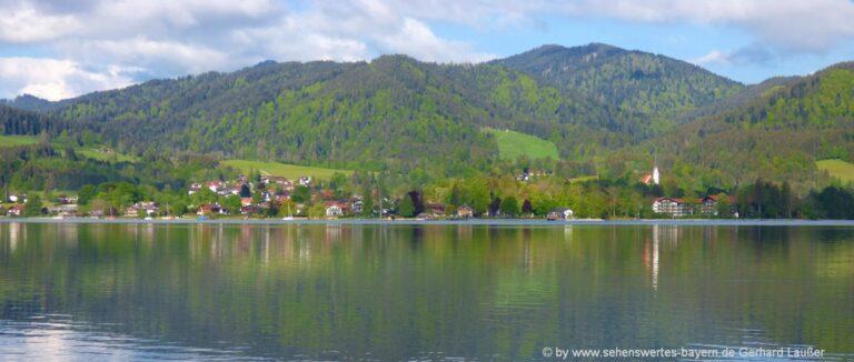 Sehenswürdigkeiten Bad Wiessee Ausflugsziele Stadt Kirche