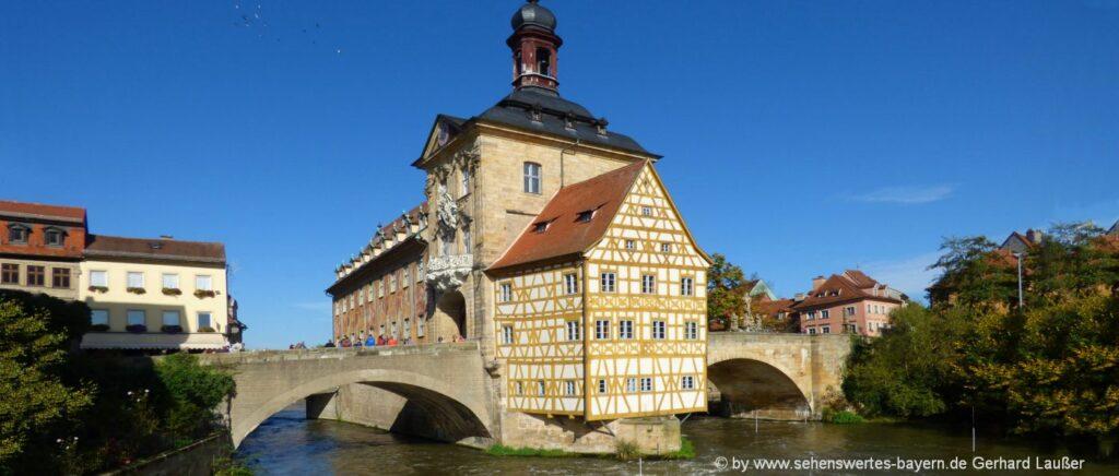 Urlaubsziele in Deutschland und Bayern Reiseziel Bamberg