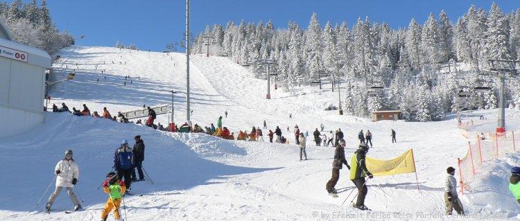 Skigebiete Bayerischer Wald Skifahren am Arber