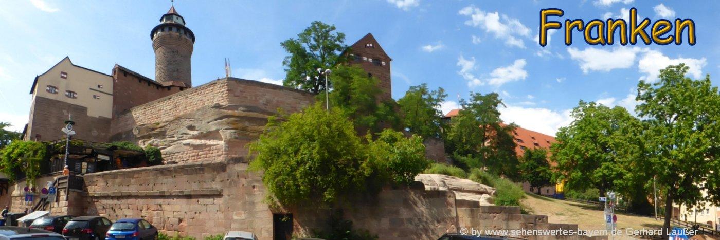 Fränkisches Seenland Ausflugsziele und Sehenswürdigkeiten bei Nürnberg