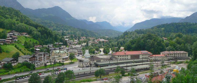 Sehenswürdigkeiten in Berchtesgaden Stadt Ansicht