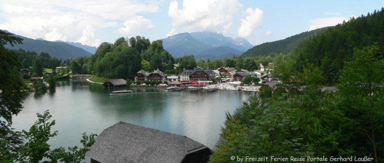 Wandern und Schifffahrt in Schönau am Königssee