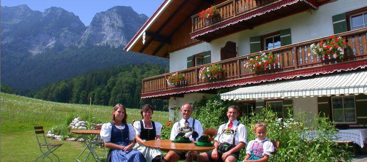 Berghütte mieten Urlaub in Bayern