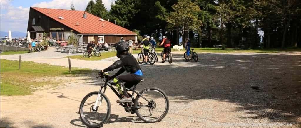 Geißkopf Bikepark Bayerischer Wald MTB fahren in Bayern