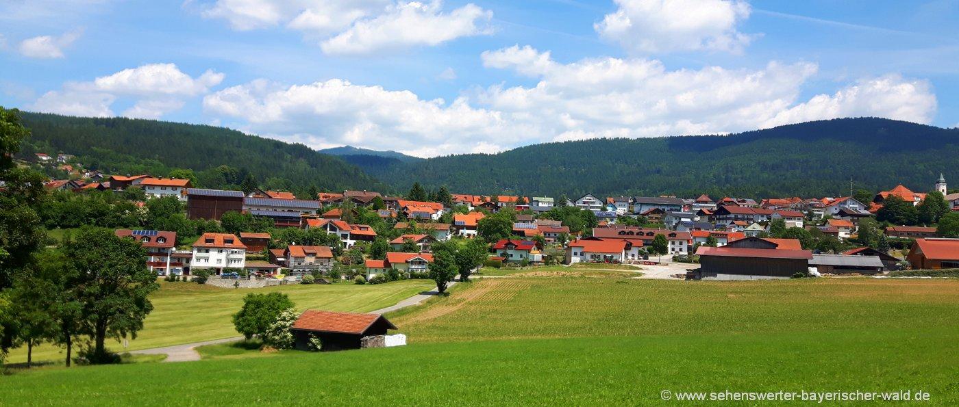 bodenmais-ferienort-ausflugziele-bayerischer-wald-ortsansicht