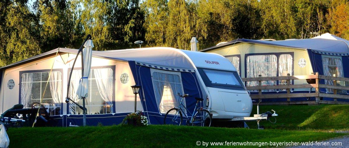 Campingplatz in Bayern Wohnwagenstellplatz bei München campen