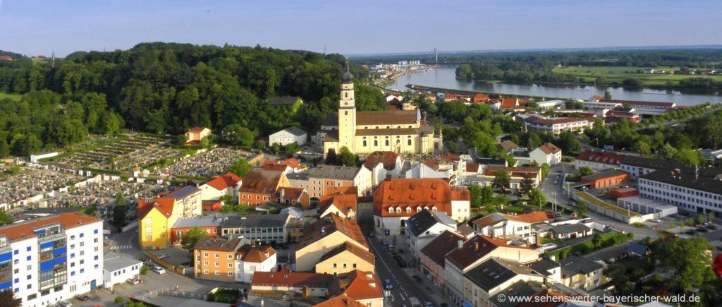 Sehenswürdigkeiten in Deggendorf Ausflugsziele und Attraktionen