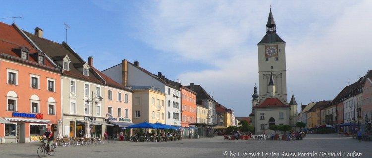 Sehenswürdigkeiten in Deggendorf Stadtplatz