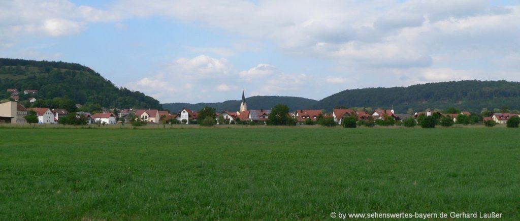 Sehenswürdigkeiten in Dietfurt Ausflugsziele Stadt im Altmühltal