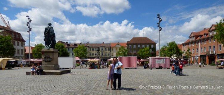 Sehenswürdigkeiten in Erlangen Ausflugsziel Altstadt in Franken