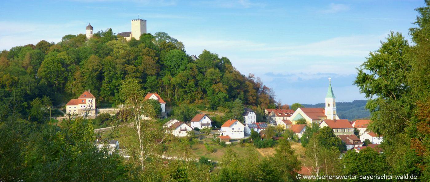 sehenswürdigkeiten-falkenstein-ausflugsziele-oberpfalz-attraktionen-burg