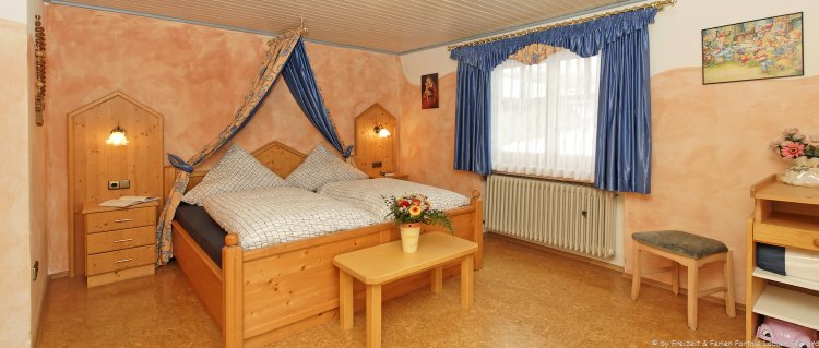 Familienpension in Bayern Schlafzimmer