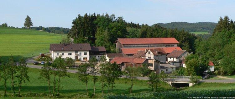 Familienurlaub am Bauernhof Fingermühl Hofansicht