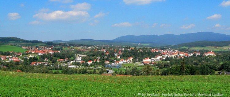 Feriendorf Bayerischer Wald Ferienpark Landschaft