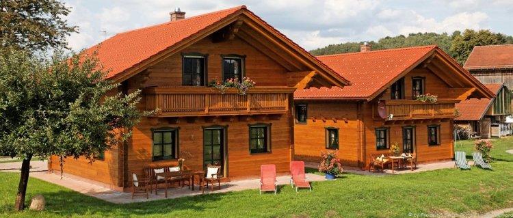 Urlaub in Holz Ferienhütten in Bayern