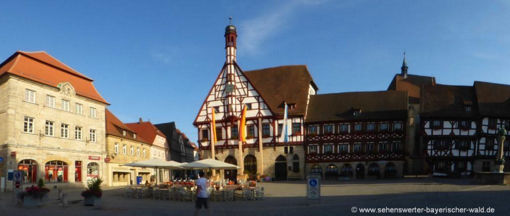 Forchheim Ausflugsziele in Franken Sehenswürdigkeiten