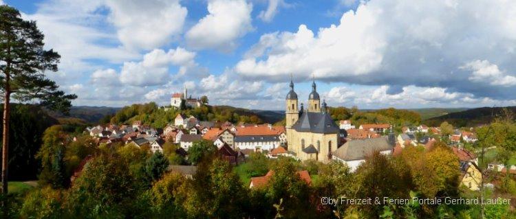 Sehenswürdigkeiten in der Fränkischen Schweiz Ausflugsziel Gößweinstein
