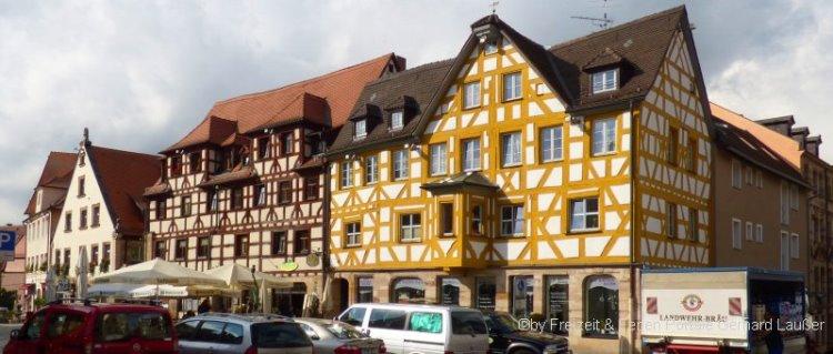 Sehenswürdigkeiten in Fürth - Altstadt Ausflugsziel in Franken