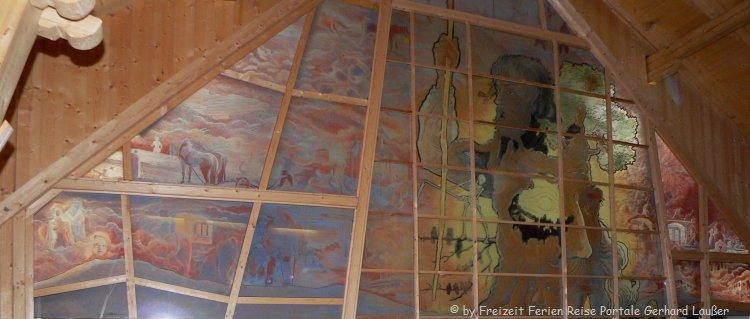 Gläserne in Scheune in Viechtach Glaskunst Bayerischer Wald