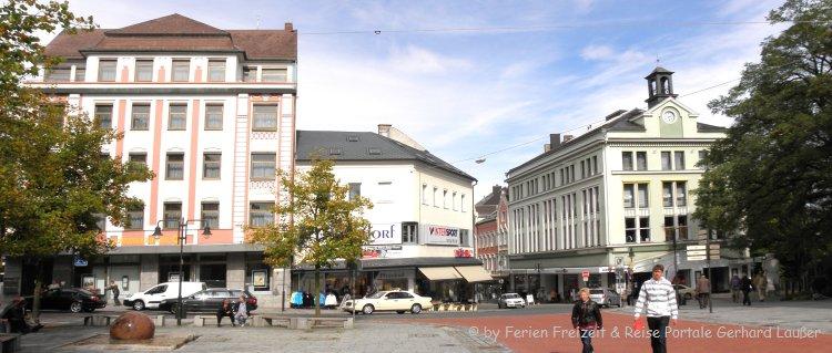 Sehenswürdigkeiten Hof in Bayern Stadtplatz