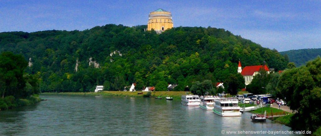 kelheim-highlights-befreiungshalle-altmühltal-attraktionen-ausflugsziele