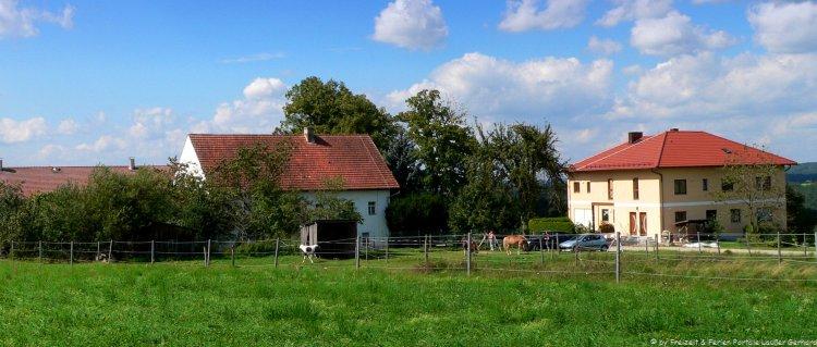 Kinderbauernhof im Bayerischen Wald Ansicht vom Handlhof