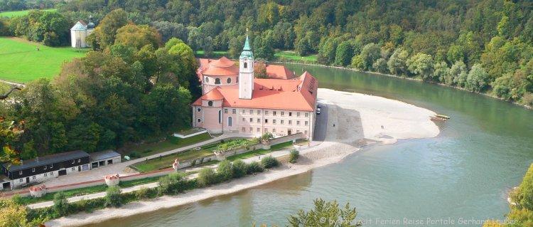 Ausflüge im Altmühltal Donaudurchbruch Kloster Weltenburg