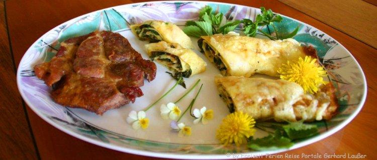 Leckere Bayerische Küche genießen