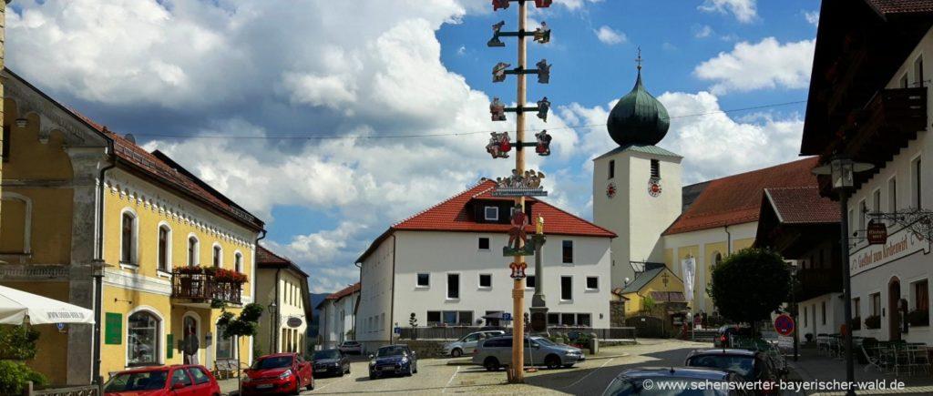 Sehenswürdigkeiten und Ausflugsziele in Lam Pfarrkirche