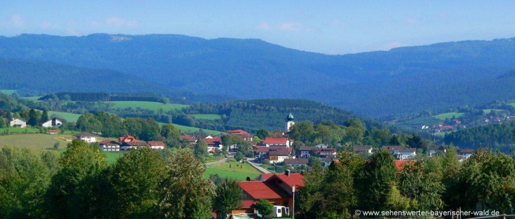 Ausflugsziele in Lam im Bayerischen Wald