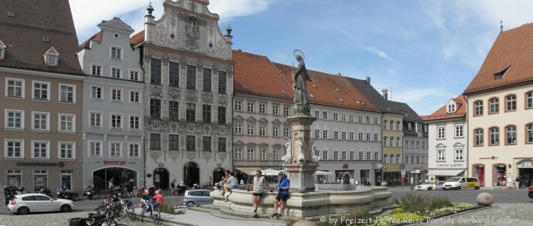 Sehenswürdigkeiten in Landsberg am Lech Altstadt
