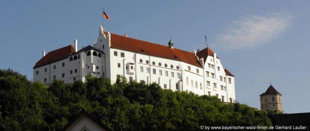 Ausflugsziele in Landshut Sehenswürdigkeiten Burg Trausnitz