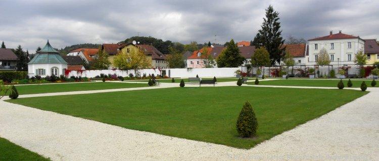 Kloster Metten Parkanlage