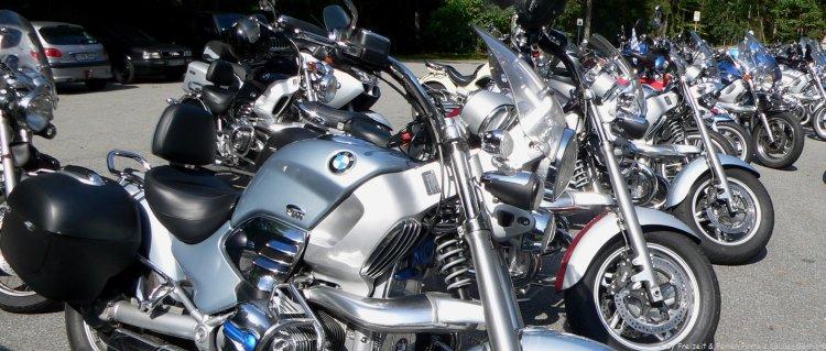 Motorradhotels in Bayern Motorräder