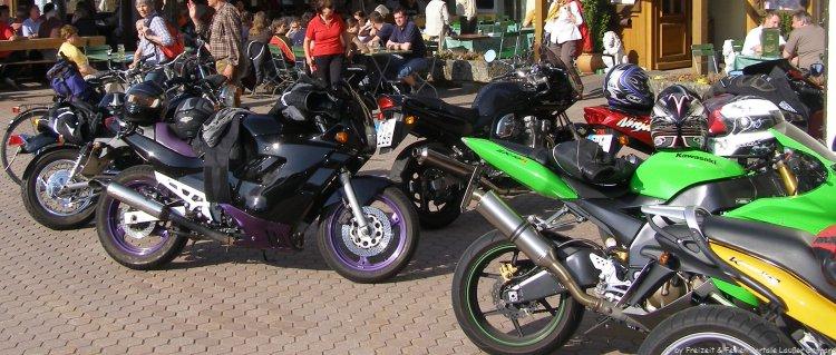 Motorradpension Bikergasthof in Bayern