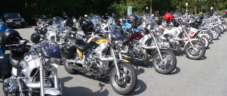 Motorradtouren im Bayerischen Wald Bikes
