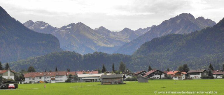 sehenswürdigkeiten-oberstdorf-ausflugsziele-oberbayern-berge-allgäuer-alpen
