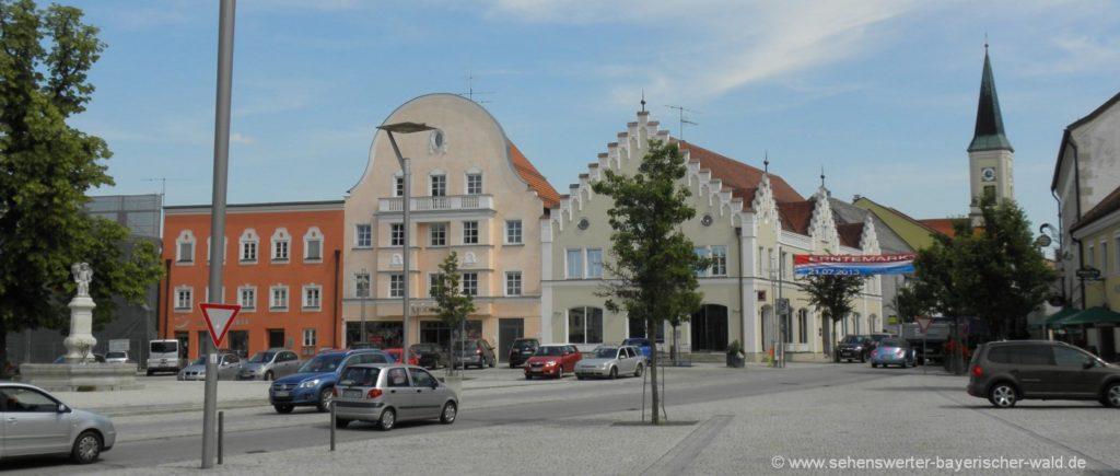 Ausflugsziele in Osterhofen Highlights in Niederbayern