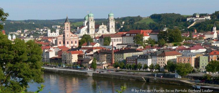 Sehenswürdigkeiten in Niederbayern Stadt Passau