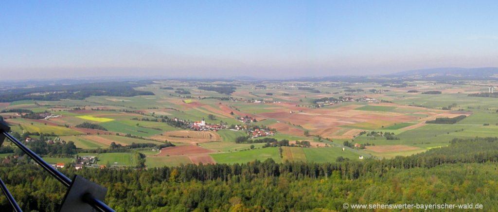 Ausflugsziel Rauher Kulm der Vulkanberg bei Neustadt am Kulm