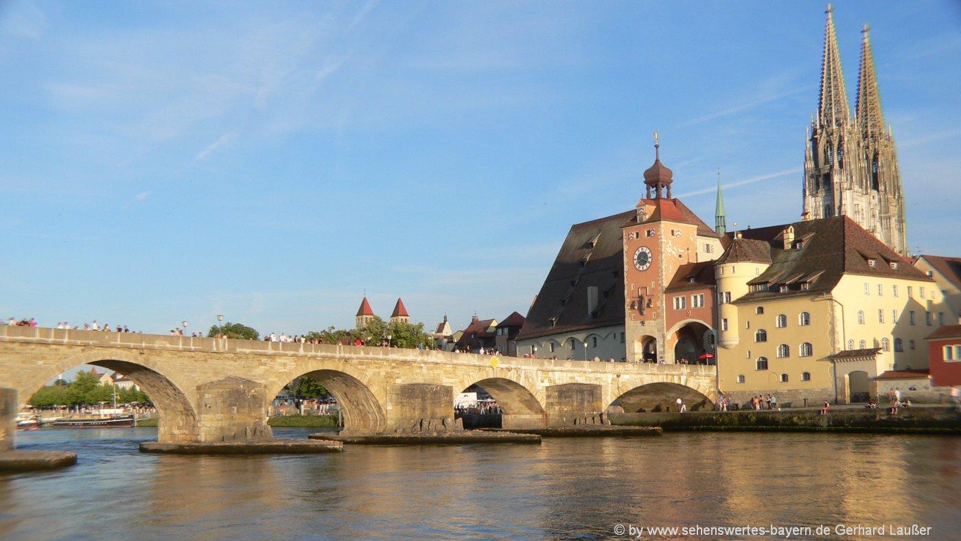 Reise nach Bayern planen Städtetrip nach Regensburg