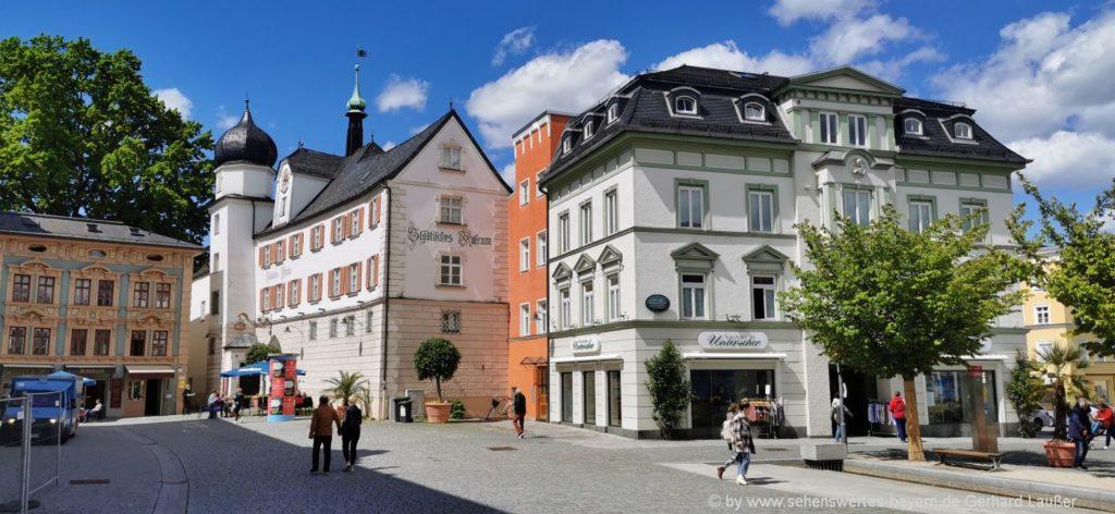 Sehenswürdigkeiten in Rosenheim Ausflugsziele Städtisches Museum Freizeittipps