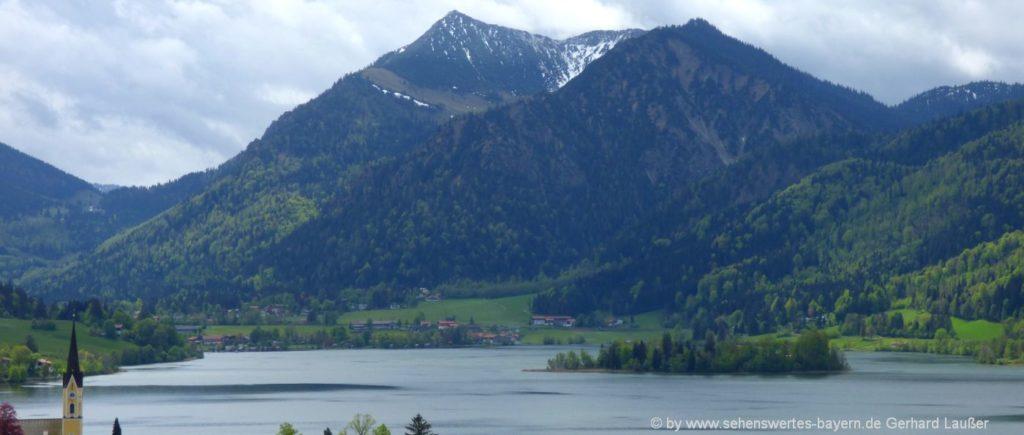 Ausflugstipps Schliersee - Wanderung zum Brecherspitz