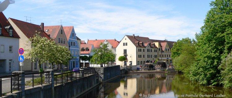 Sehenswürdigkeiten in Schwandorf Fluss Naab