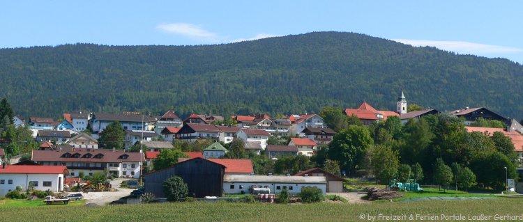 Ansicht von Bodenmais Sehenswertes Ausflugsziel im Bayerischen Wald
